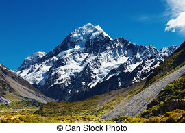 Pictures of Mount Cook.