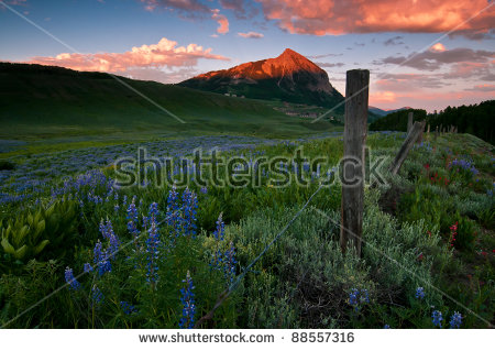 Crested Butte Stock Photos, Royalty.
