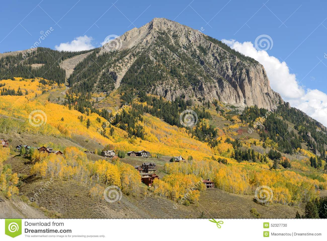 Mount crested butte clipart #19