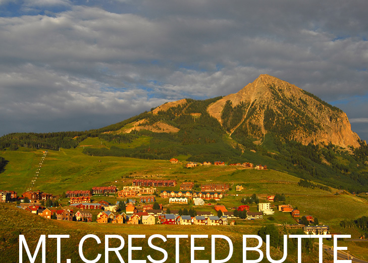 Mount crested butte clipart #16