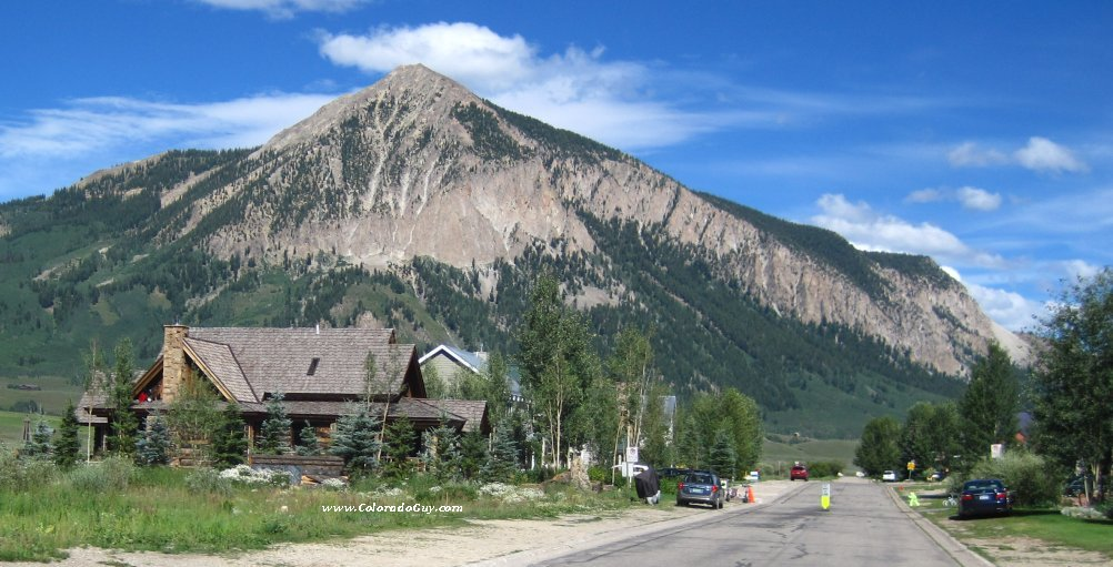 Crested butte.