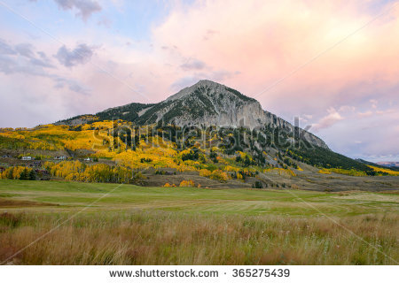 Mount crested butte clipart #8