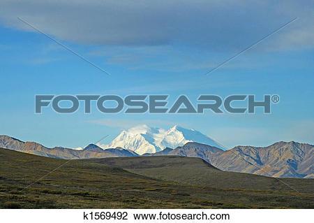 Stock Photo of Mount Denali/McKinley k1569492.
