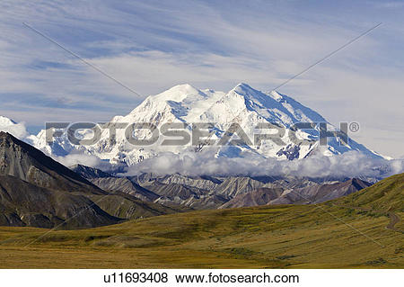 Pictures of Mount Denali (formerly Mount McKinley), from Stony.