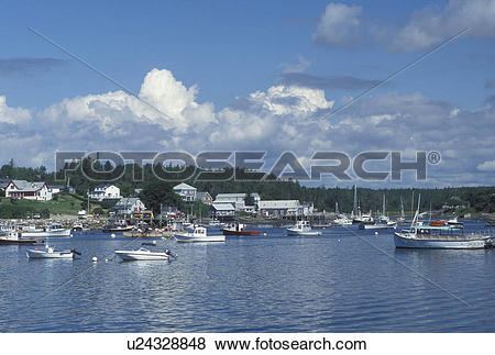 Pictures of lobster boats, Bernard, ME, Maine, Mount Desert Island.