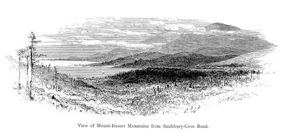Mount desert island clipart #10