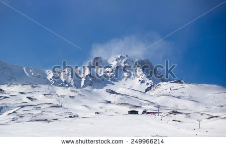 Mount erciyes clipart #7