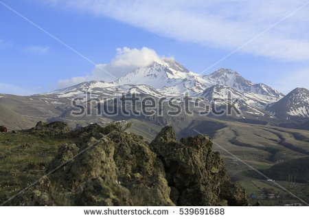 Mount erciyes clipart #8