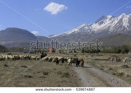 Mount Erciyes Stock Photos, Royalty.