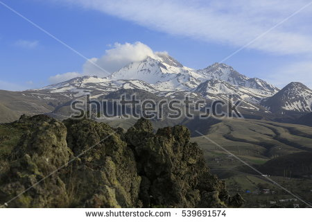 Mount erciyes clipart #16
