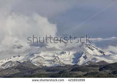 Mount erciyes clipart #6