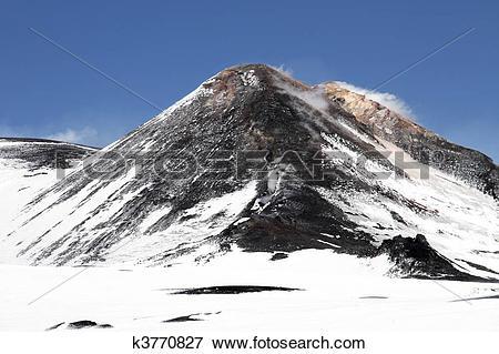 Mount etna clipart #14