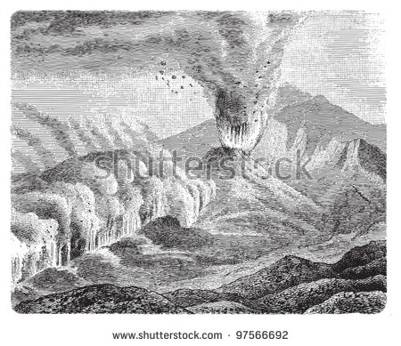 Mount Etna Stock Vectors & Vector Clip Art.