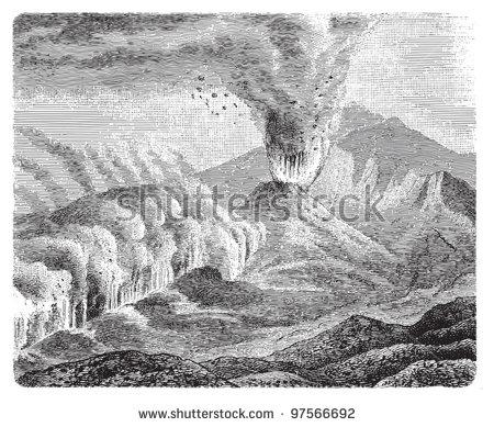 Mount etna clipart #16