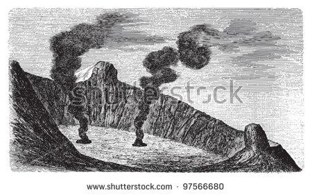 Mount Etna Stock Vectors & Vector Clip Art.