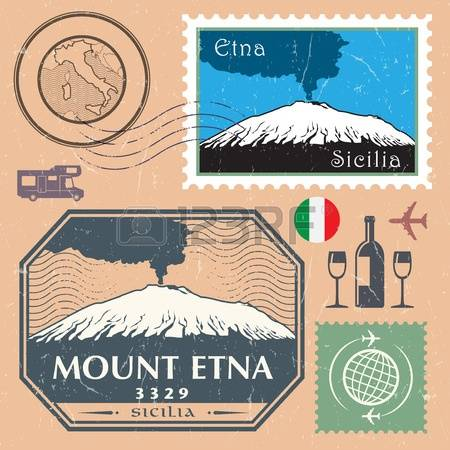 154 Mount Etna Stock Illustrations, Cliparts And Royalty Free.