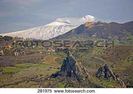 Mount etna clipart #12