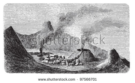 Mount etna clipart #20