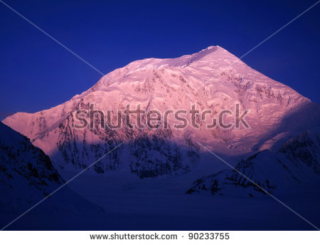 Alaska In Winter Stock Photos, Royalty.