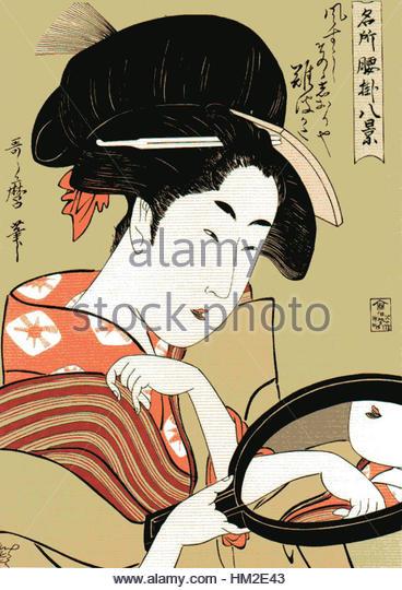 Utamaro Kitagawa Stock Photos & Utamaro Kitagawa Stock Images.