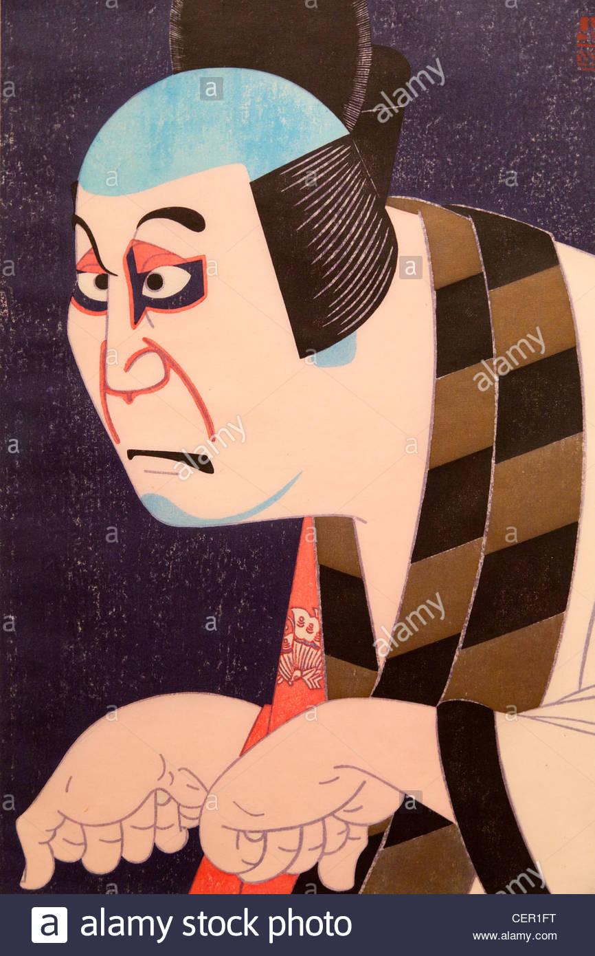 Japanese Woodblock Print Stock Photos & Japanese Woodblock Print.
