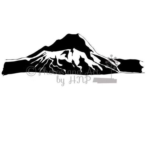 Similiar Mt Hood Silhouette Keywords.