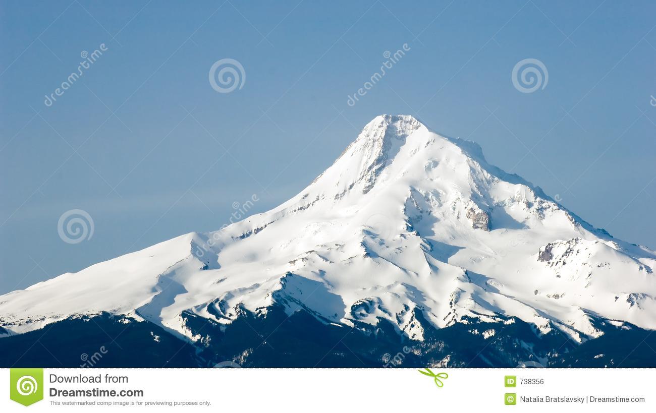 Mount hood clipart #3