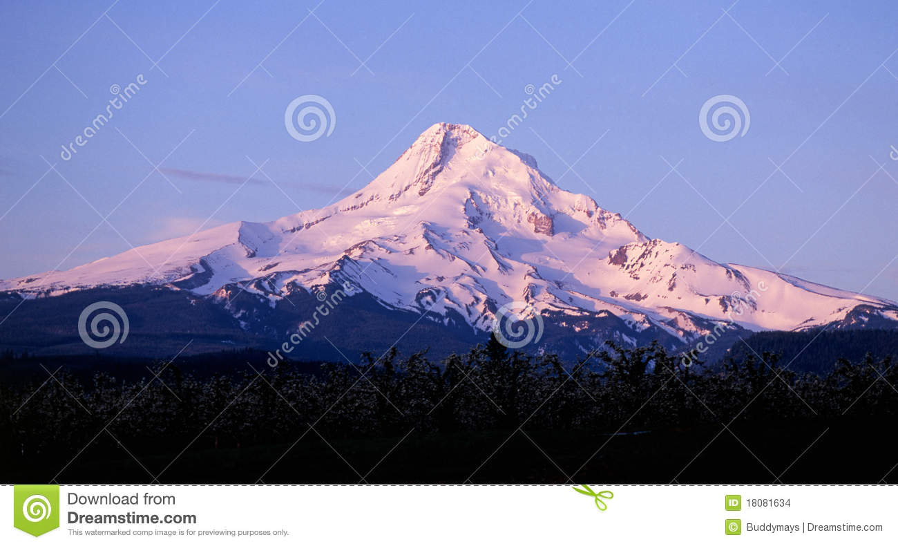 Mount Hood, Oregon Stock Images.
