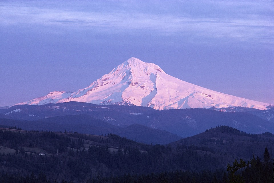 Free photo: Mount, Hood, Mountain, Oregon.