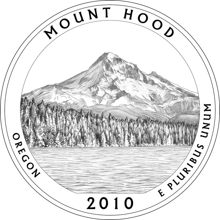 Outline of mt hood clipart.