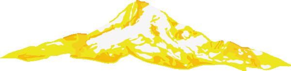 Yellow Mt. Hood Clip Art at Clker.com.