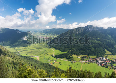 Oberammergau alps Stock Photos, Images, & Pictures.