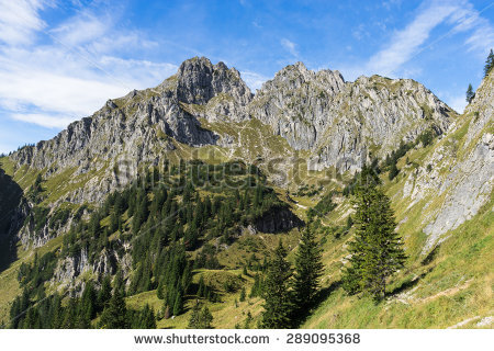 Ammer Mountains Stock Photos, Royalty.