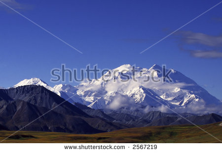 Mckinley Alaska Stock Photos, Royalty.