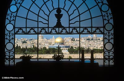 Mount of Olives (BiblePlaces.com).