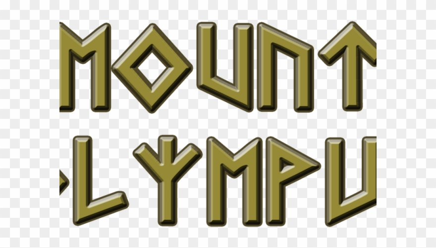 Greece Clipart Mount Olympus.