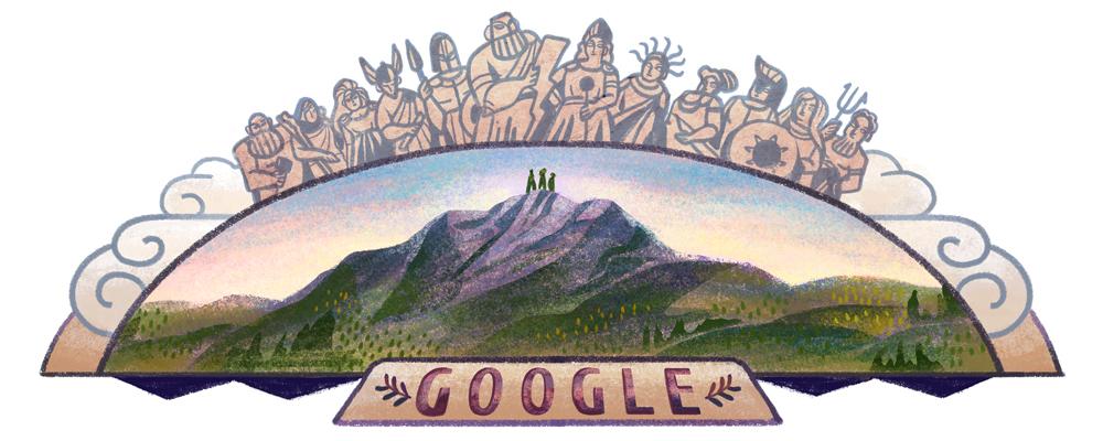 Celebrating Mount Olympus.