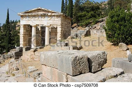 Pictures of delphi oracle Greece.