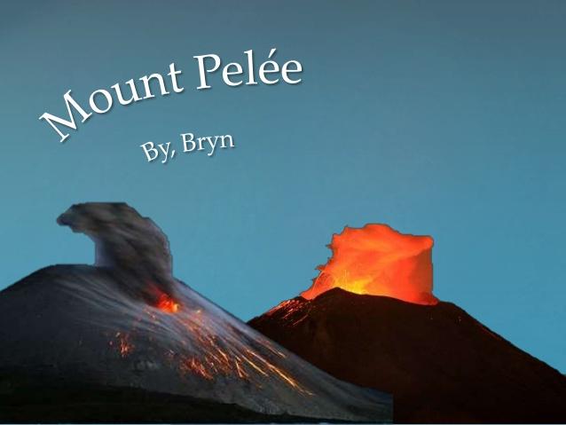 Mount pelee essay.