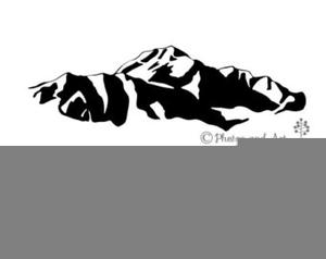 Mt Rainier Clipart Free.