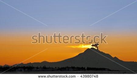 Mount redoubt clipart #5