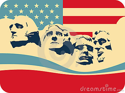 Mount Rushmore Royalty Free Stock Photos.