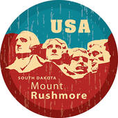 Mount rushmore Clipart Vector Graphics. 32 mount rushmore EPS clip.