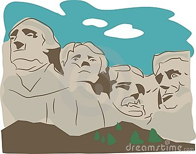 Mount Rushmore Stock Illustrations.