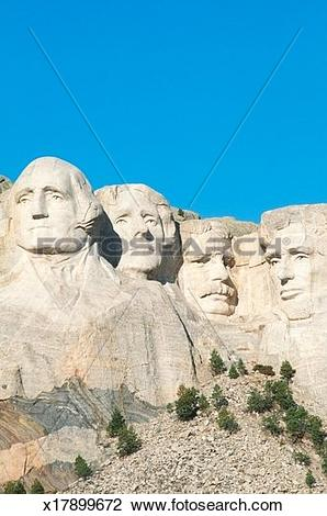 Stock Photo of 'Mt. Rushmore National Monument near Rapid City.