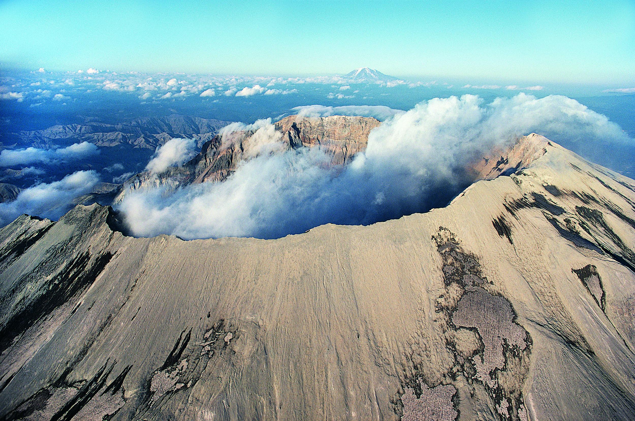 Mount St. Helen.