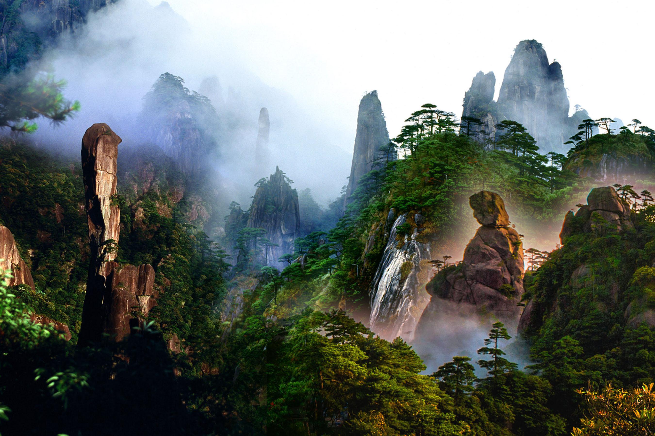 Sanqing Mountain, China.