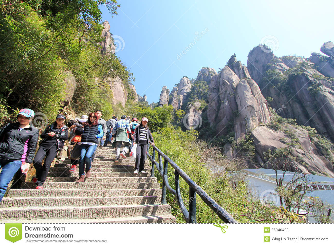 China Sanqing Mountain Editorial Stock Photo.