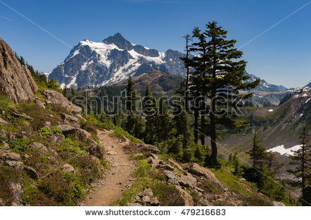 Mount Shuksan Stock Photos, Royalty.