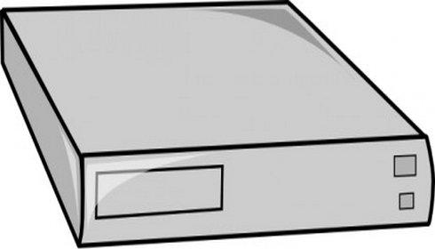 Cage Rack Mountable Server Clip Art.